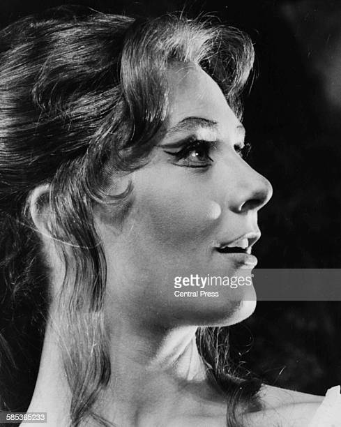 Portrait of actress Vanessa Redgrave as she appears in the play 'The Shrew' at the Aldwych Theatre London September 15th 1961