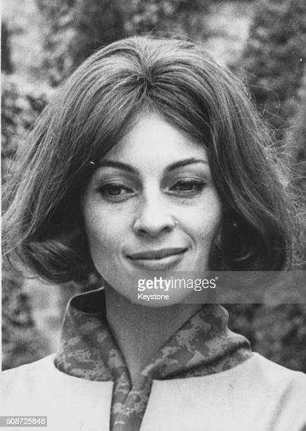 Portrait of actress Veronique Passani wife of actor Gregory Peck as she is named as 'Woman of the Year' in France 1967