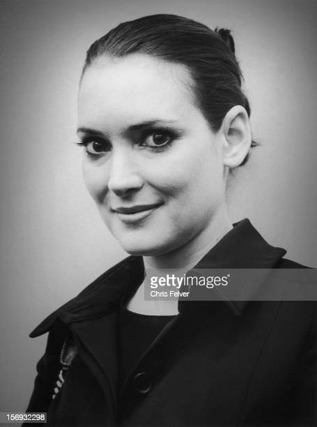 Portrait of actress Winona Ryder San Francisco California 2011
