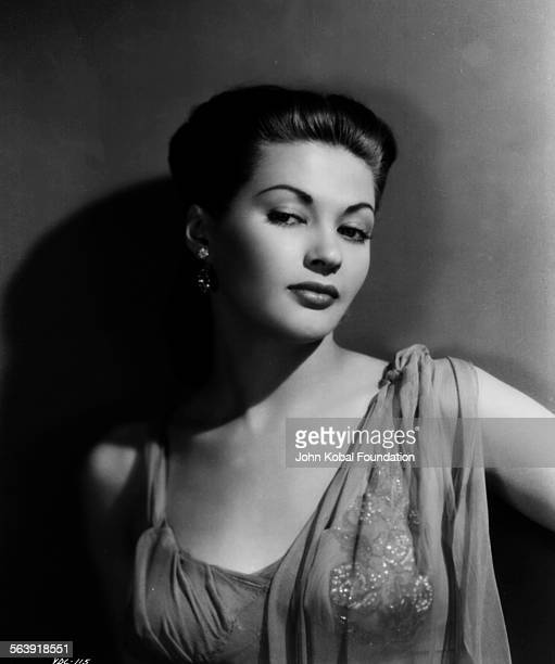 Portrait of actress Yvonne De Carlo for Universal Pictures 1945