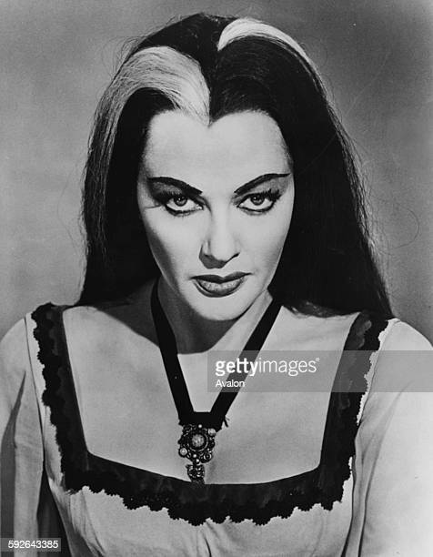 Portrait of actress Yvonne de Carlo winner of the 'Miss Monster of 1965' as she appears in the television show 'The Munsters' Hollywood CA August...