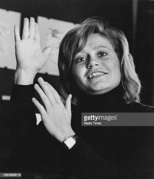 Portrait of actress Zhivila Roche photographed for Rdio Times in connection with the television drama 'Wives and Daughters' October 29th 1971 First...