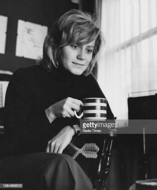 Portrait of actress Zhivila Roche photographed for Rdio Times in connection with the television drama 'Wives and Daughters' October 29th 1971