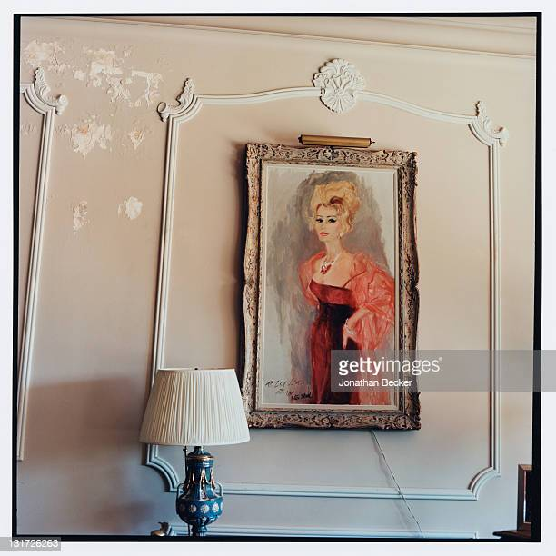 Portrait of actress Zsa Zsa Gabor is photographed in her home for Vanity Fair Magazine on May 5, 2007 in Bel Air, California.