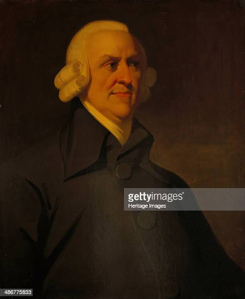Portrait of Adam Smith 1795 Artist Anonymous