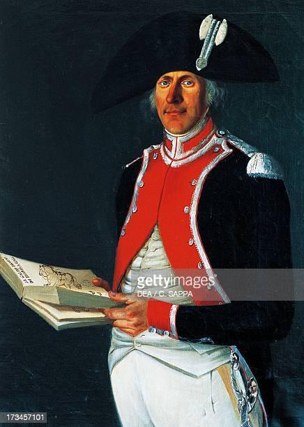 Portrait of Admiral Charles de Riberolles Castle of Ravel Auvergne France
