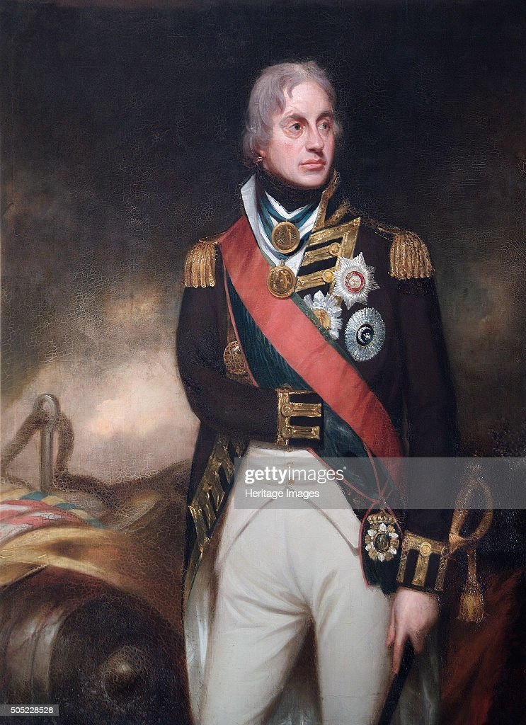 Portrait Of Admiral Lord Nelson C1806 From The Collection Apsley House London