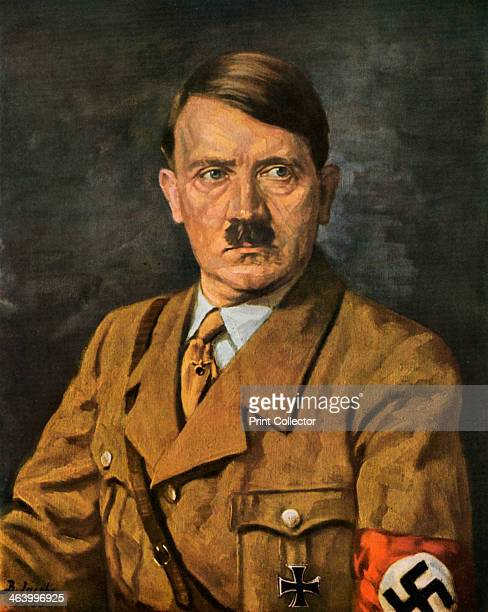 Portrait of Adolf Hitler 1933 Adolf Hitler became leader of the National Socialist German Workers party in 1921 After an unsuccessful coup attempt in...