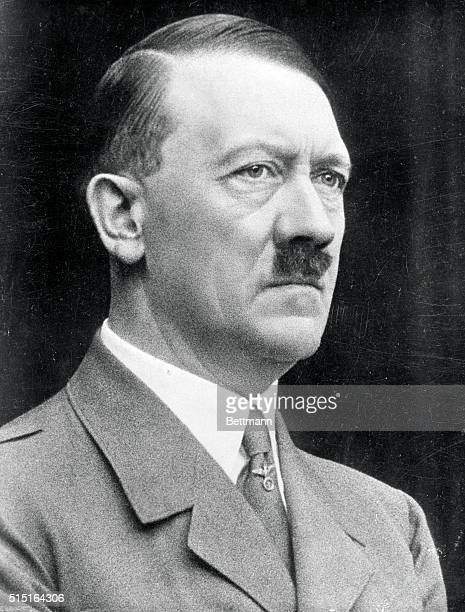 A portrait of Adolf Hitler made for his 50th birthday in April 1939 five month before the start of World War II