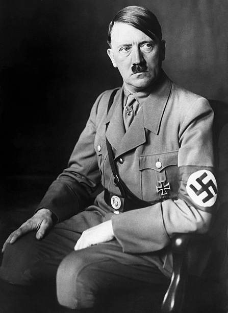 Portrait of Adolph Hitler