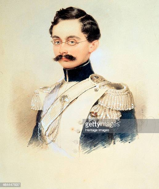 Portrait of Adolphe I Duke of Nassau Grand Duke of Luxembourg 1840s Daffinger Moritz Michael Found in the collection of the State Russian Museum St...