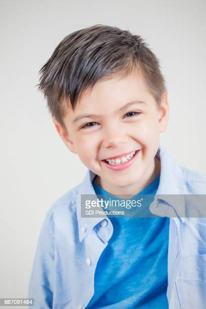 Portrait of adorable Asian little boy