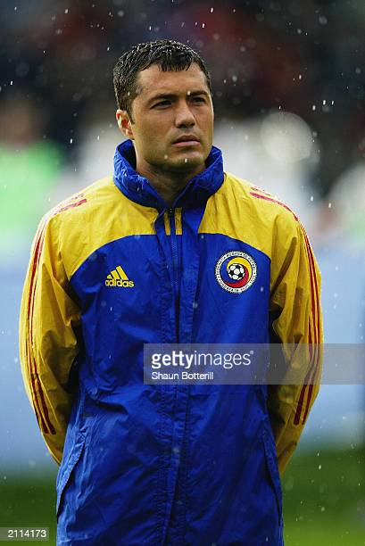 A portrait of Adrian Ilie of Romania during the European Championship Qualifying Group 2 match between Norway and Romania held on 11 June 2003 at the...