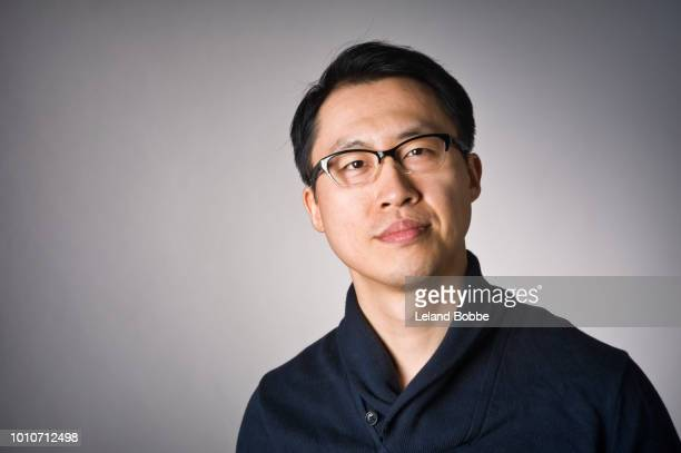 Portrait of Adult Chinese Man