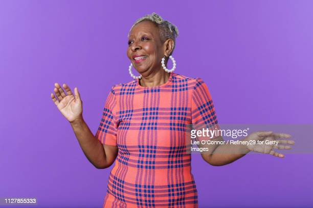 Portrait of African American Confident Woman Laughing