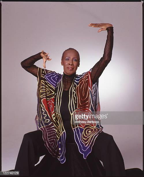 Portrait of African American dancer and choreographer Judith Jameson artistic director for the Alvin Ailey American Dance Theater New York 1997