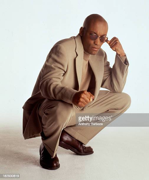 Portrait of African American film director John Singleton 1992
