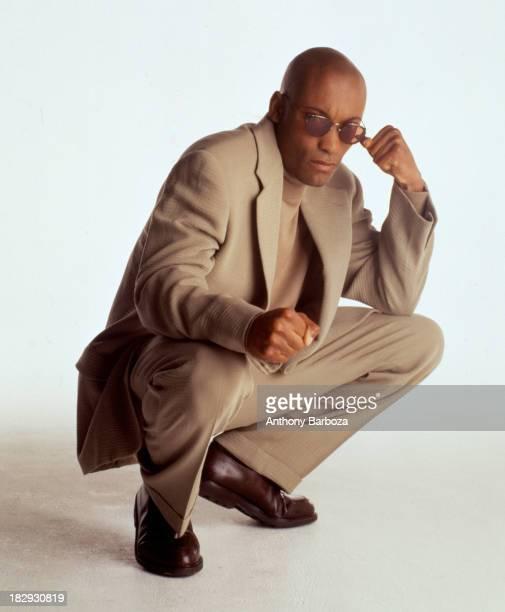 Portrait of African American film director John Singleton 1992