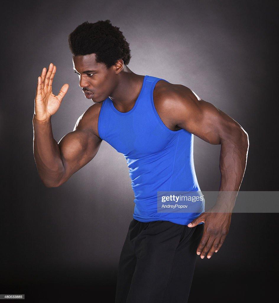 Porträt von afrikanische Mann : Stock-Foto
