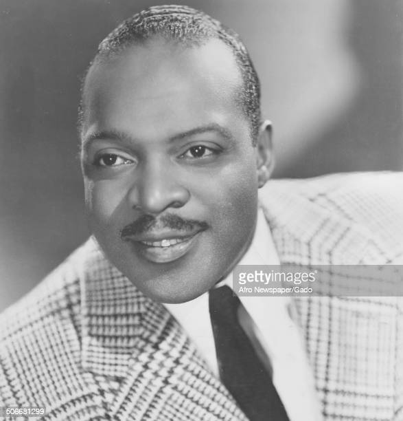 Portrait of AfricanAmerican jazz musician Count Basie 1940