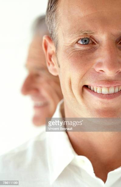 Portrait of aging man