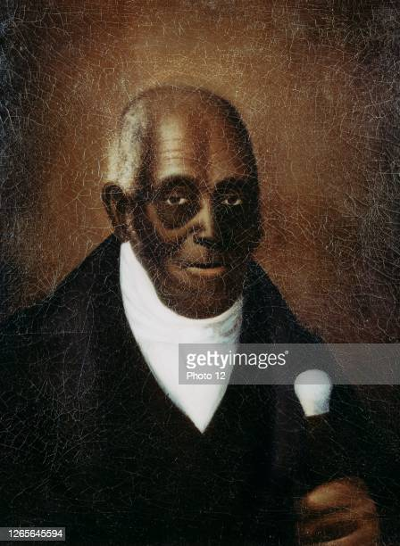 Portrait of Agrippa Hull . African American who fought with Tadeusz Kosciuszko in the American Revolutionary War.