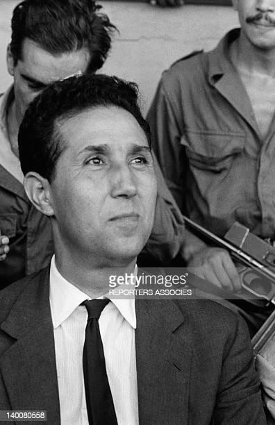 Portrait of Ahmed Ben Bella in September 1962 in Algeria