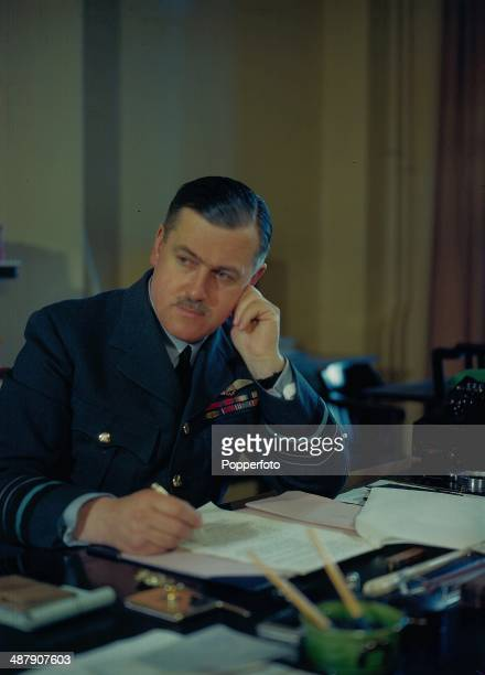 1943 Portrait of Air Chief Marshal Sir Trafford LeighMallory Commander in Chief of Fighter Command during World War Two April 1943