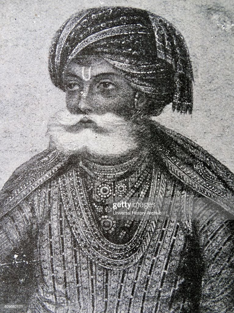 Portrait of Akbar the Great : News Photo