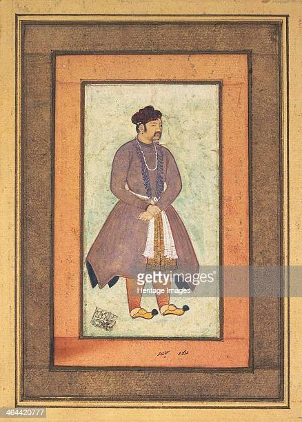 Portrait of Akbar the Great Mughal Emperor second half of the 16th century Manohar India Mughal school Found in the collection of the State Hermitage...