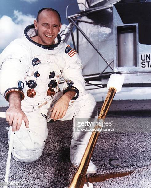 Portrait Of Alan L Bean Portrait Of Alan L Bean Prime Crew Lunar Module Pilot Of The Apollo 12 Lunar Landing Mission 1969