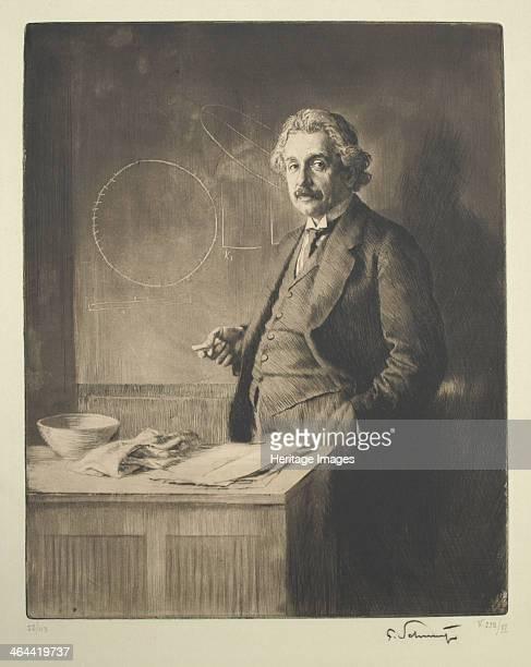 Portrait of Albert Einstein 1921 Found in the collection of the Sigmund Freud Museum Vienna