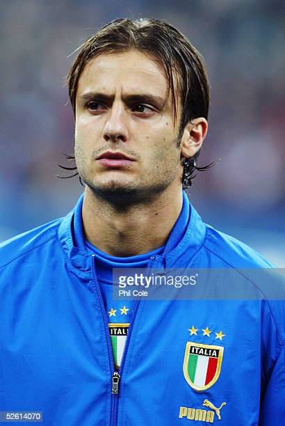 A portrait of Alberto Gilardino of Italy prior to the the World Cup Qualifier Group Five match between Italy and Scotland at the San Siro on March 26...