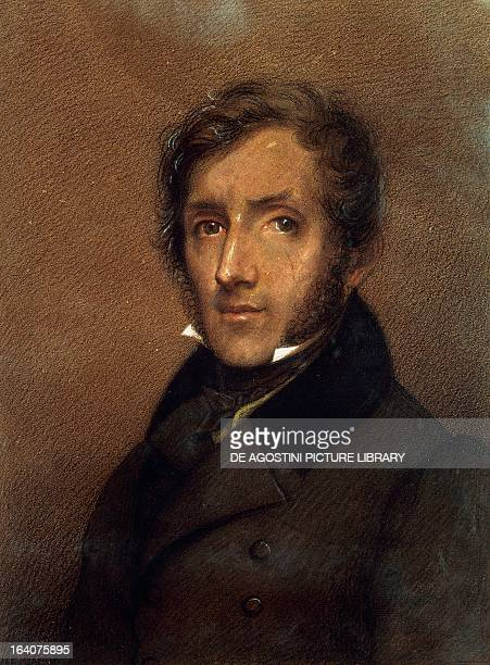 Portrait of Alessandro Manzoni Italian writer and poet Painting by Carlo Gerosa Milan Museo Manzoniano
