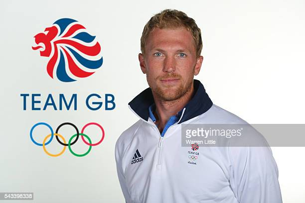 A portrait of Alex Gregory a member of the Great Britain Olympic team during the Team GB Kitting Out ahead of Rio 2016 Olympic Games on June 26 2016...
