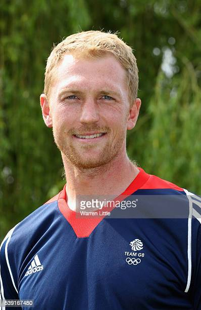 A portrait of Alex Gregory of Great Britain Rowing team after the announcement of Rowing athletes named in Team GB for the Rio 2016 Olympic Games at...