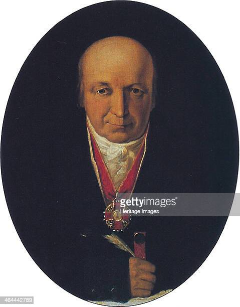 Portrait of Alexander Baranov chief of the RussianAmerican Company first governor of Russian Alaska 1818 Found in the collection of the State Museum...