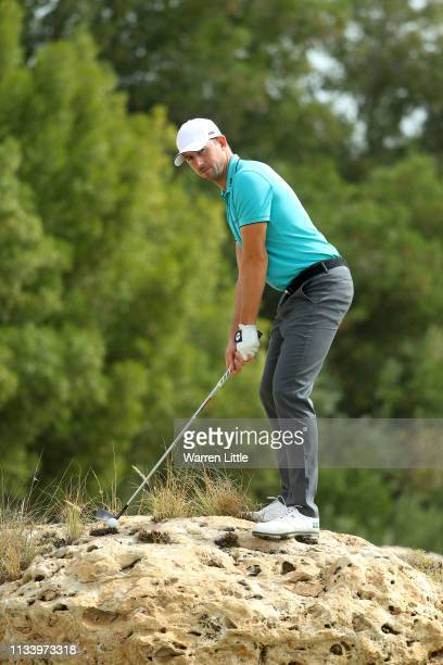 A portrait of Alexander Bjork of Sweden ahead of the Commercial Bank Qatar Masters at Doha GC on March 06 2019 in Doha Qatar