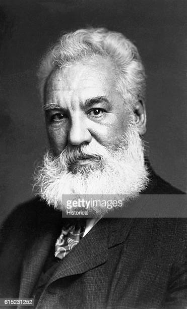 Portrait of Alexander Graham Bell inventor of the telephone