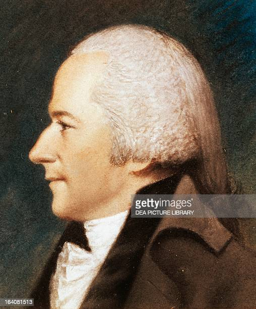 Portrait of Alexander Hamilton American politician Washington National Gallery Of Art