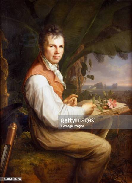 Portrait of Alexander von Humboldt 1806 Found in the Collection of Staatliche Museen Berlin Artist Weitsch Friedrich Georg