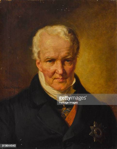 Portrait of Alexander von Humboldt 1858 Private Collection