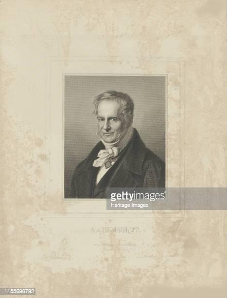 Portrait of Alexander von Humboldt circa 1850 Private Collection Artist Breitkopf Härtel