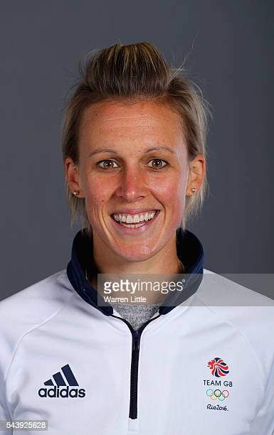 A portrait of Alexandra Danson a member of the Great Britain Olympic team during the Team GB Kitting Out ahead of Rio 2016 Olympic Games on June 30...