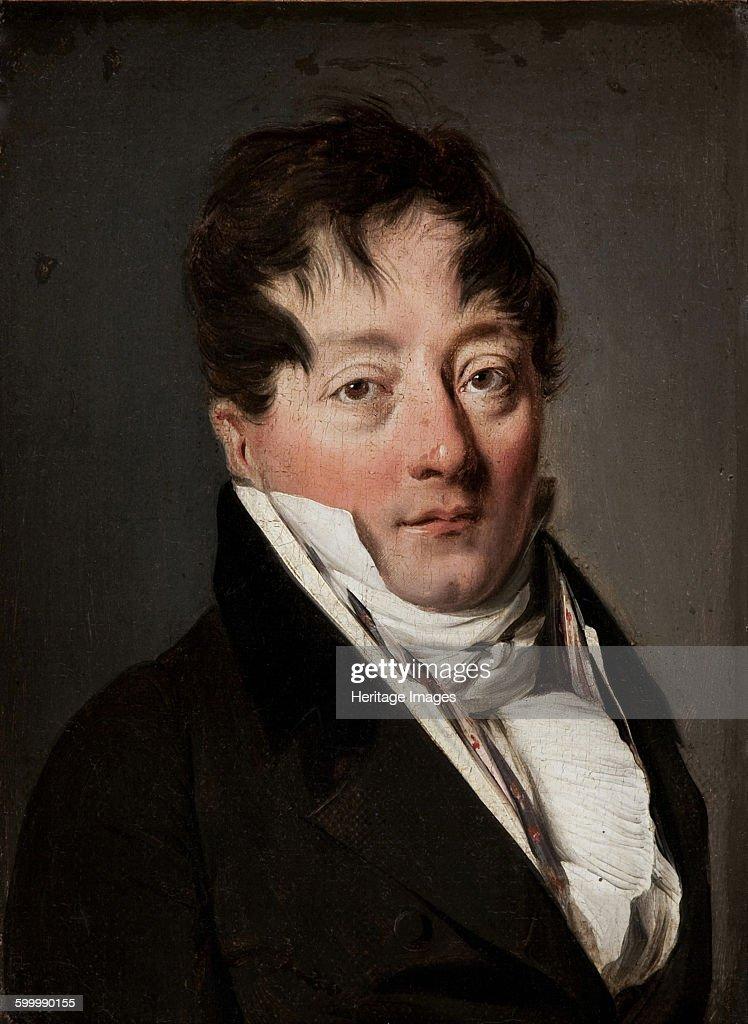 Portrait of Alexandre Balthazar Laurent Grimod de la Reynière (1758-1837) : Photo d'actualité