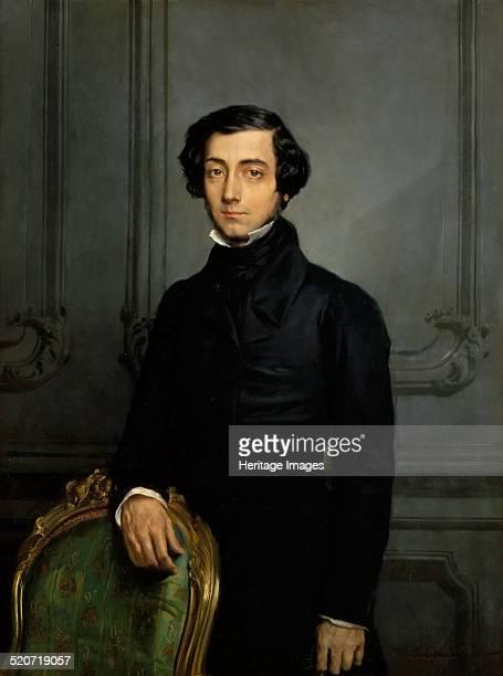 Portrait of Alexis de Tocqueville Found in the collection of Musée de l'Histoire de France Château de Versailles