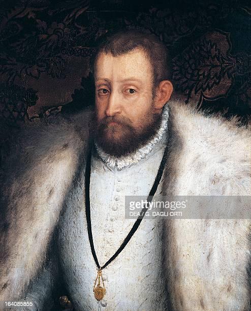 Portrait of Alfonso I d'Este Duke of Ferrara Modena and Reggio Azay Le Rideau Chateau D'Azay Le Rideau