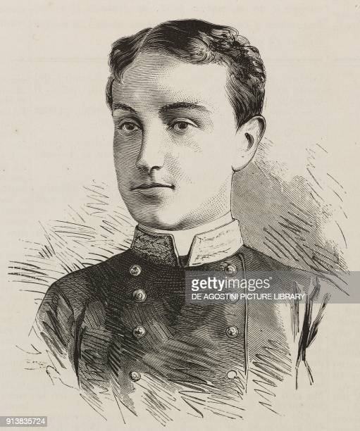 Portrait of Alfonso XII King of Spain in the years 18741885 illustration after a photo by Le Jeune from the magazine L'Illustrazione Universale year...