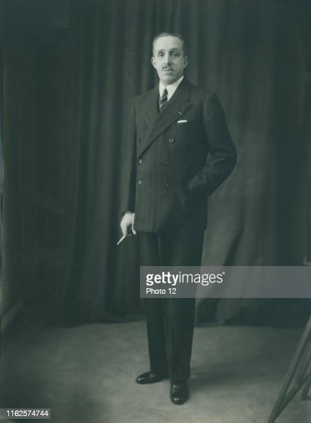 Portrait of Alfonso XIII of Spain King of Spain from 1886 to 1931 c1932 Photo Taponier