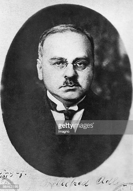 Portrait of Alfred Adler hotography Around 1900 [Portrait von Alfred Adler Photographie Um 1900]